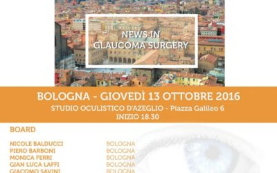 News in glaucoma surgery
