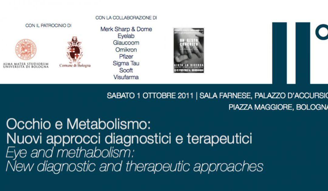 Occhio e metabolismo: nuovi approcci diagnostici e terapeutici